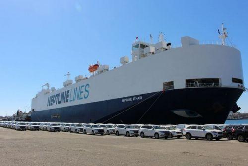 Mitsubishi планирует увеличить перевалку автомобилей через порт Черноморск - Mitsubishi