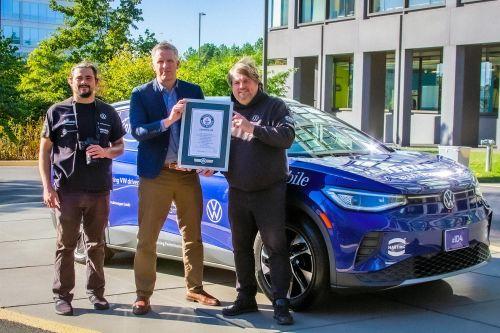 Volkswagen ID.4 установил рекорд Гиннесса по дальности поездки