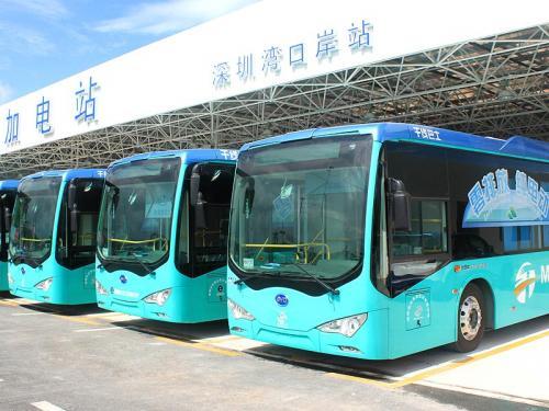BYD заключил крупнейшую сделку по электробусам в Европе