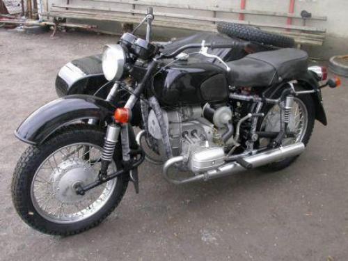 Грузовой мотоцикл из урала своими руками