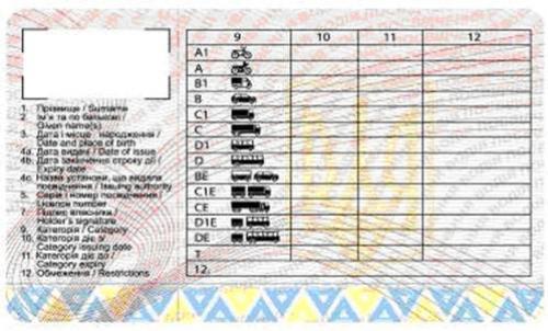 Українські водії будуть вимушені перездавати на права кожні 5-15 років