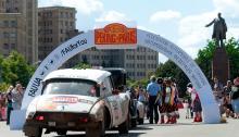 Где в Киеве обслуживались легендарные автомобили ретро-ралли «Пекин-Париж»?