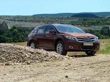 Тест-драйв Toyota Venza: внедорожный минивэн
