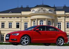 Тест-драйв Audi A3 Sedan: Наследник «восьмидесятки»
