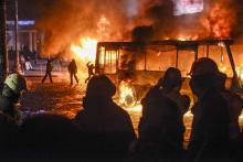 Страховые компании не будут компенсировать ущерб, полученный во время беспорядков