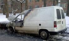 Почти все сожженные авто в Киеве были не застрахованы