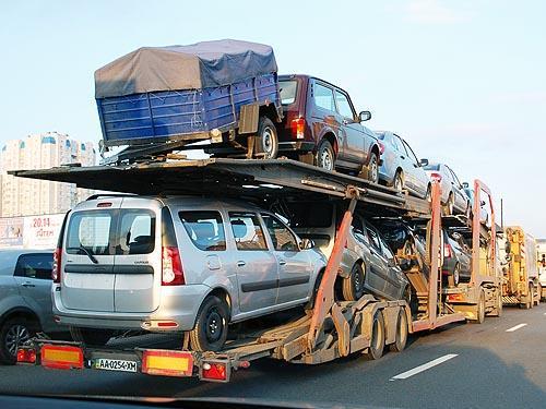Украина экспортировала автомобилей на $5 млн.