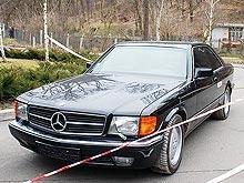 Любимым авто Януковича был Mercedes-benz 560 SEC 90 года - гараж