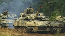 Десантники получили партию восстановленных танков Т-80. Видео