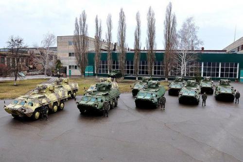 Украина может открыть сервисный центр по обслуживанию бронетехники в Таиланде