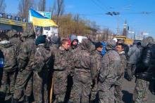 Крупнейший авторынок в Украине сегодня забастовал