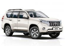 В Украине появился Toyota Land Cruiser Prado в новой комплектации - Toyota