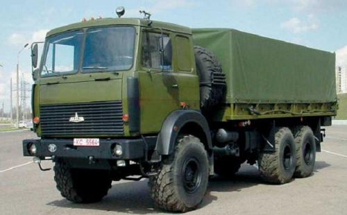 Минобороны закупит армейские грузовики МАЗ почти на 100 млн. грн