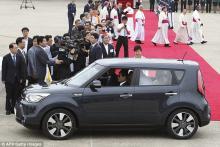 Папа Римский Франциск ездит на Kia Soul - Kia