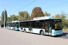 В Чернигове появились троллейбусы собственного производства