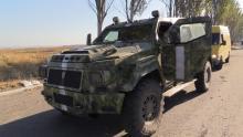 Еще один автомобиль Януковича воюет в зоне АТО - Knight XV