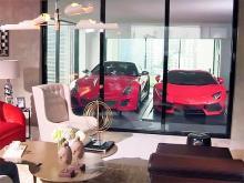 В мире набирают популярность гаражи прямо в каждой квартире. Видео - паркинг