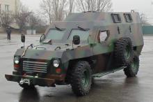 Нацгвардия закупает бронеавтомобили Богдан Барс - Богдан Барс