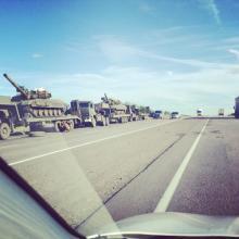 На вооружении у боевиков Донбасса около 700 единиц бронетехники - танк