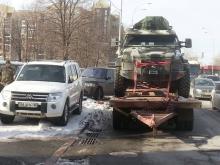 """Полк """"Азов"""" с помощью волонтеров смог отправить КрАЗ Спартан на фронт - КрАЗ"""