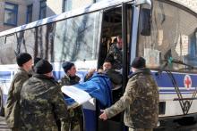 На базе автобуса ЛАЗ сделали мобильный госпиталь
