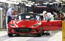 Стартовало серийное производство родстера Mazda MX-5 нового поколения