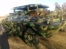 Активисты и волонтеры сделали для армии более 260 бронеавтомобилей. Фото - броне