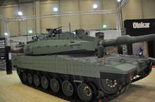Украину избрали запасным поставщиком двигателей для турецкого танка Altay