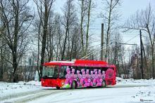 Бизнесмен дарит городу романтические троллейбусы из-за давней истории. Фото