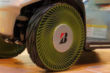 Bridgestone представила безвоздушные шины