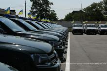 Украинские пограничники получили 193 новых автомобиля - VW Amarok