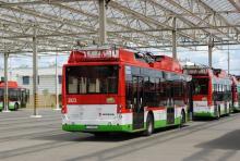 Богдан завершил поставку троллейбусов в польский Люблин