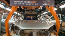 На АвтоВАЗе уже собрали пилотный кроссовер Xray на главном конвейере