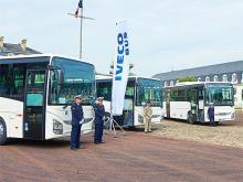 Французская армия закупила 153 автобуса Iveco Crossway
