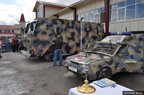 Автомобили, которые воевали за Независимость Украины. Фото