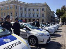 В Одессе на улицы вышла новая полиция. Фото