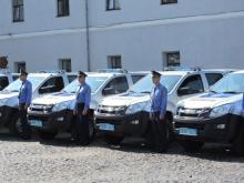 Волынские патрули будут ездить на пикапах Isuzu D-Max - Isuzu