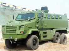 В Украине представили новый бронеавтомобиль КрАЗ Fiona. Фото - Kraz