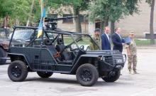 """Волонтеры сделали для разведчиков тактический автомобиль """"Фантом"""". Фото - броне"""