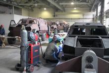 """В Украине стартовало серийное производство бронеавтомобилей """"Дозор-Б"""". Фото"""