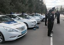 На автомагистрали вышла новая служба дорожной полиции - полиц