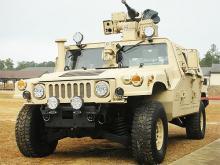Украина закупила партию бронированных Hummer у американской компании. Фото