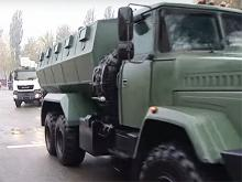 В Украине начали выпускать еще один бронеавтомобиль с антиминной защитой. Фото - броне