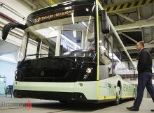 Во Львове представили украинский электроавтобус