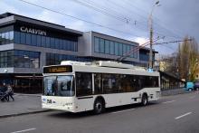 Днепропетровск получил 6 троллейбусов производства Южмаша. Фото