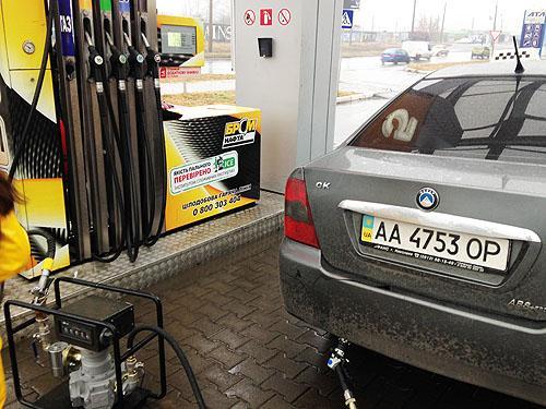 В Украине дорожает автомобильный газ