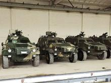 Во Львове выпустили первую партию бронеавтомобилей «Дозор-Б». Фото