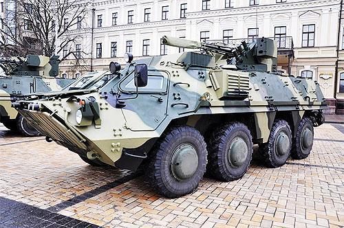 ХКБМ завершило поставку БТР-4Е для Нацгвардии