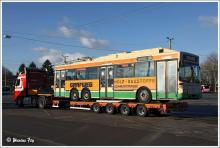 Украинские города скупают бу троллейбусы в Европе. Фото