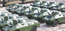 Николаевский бронетанковый завод передал армии партию разведывательных машин. Фото